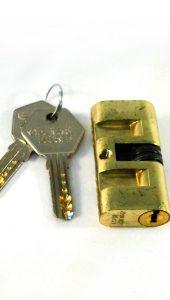 Fechaduras para porta de vidro - chave esférica